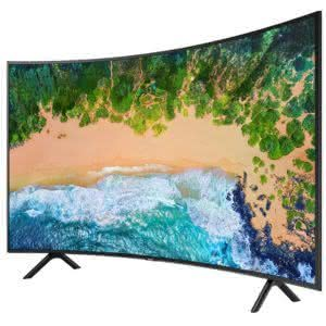 "Smart TV 3D LED Curved 65"" Ultra HD 4K LG 65UG8700 com Sistema webOS, Painel IPS, , Controle Smart Magic e 4 Óculos 3D 1"