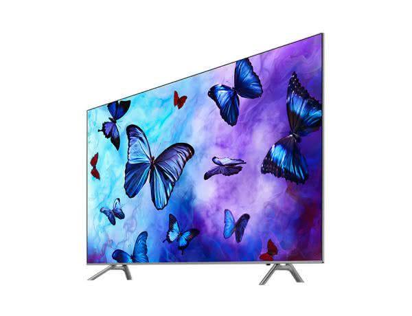 "Smart TV QLED 65"" UHD 4K Samsung 65Q6FNA, Smart Tizen, Bixby, Modo Ambiente, Tela de Pontos Quânticos, HDR 1000"