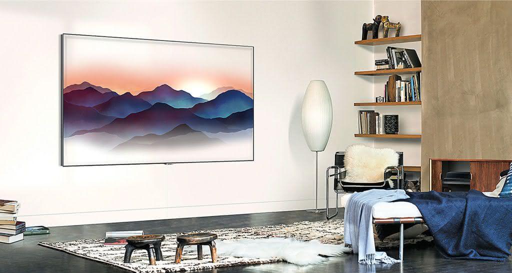 "Smart TV Tela Curva QLED 65"" UHD 4K Samsung 65Q8CN Smart Tizen, Bixby, Modo Ambiente, Tela de Pontos Quânticos, HDR 1500 5"