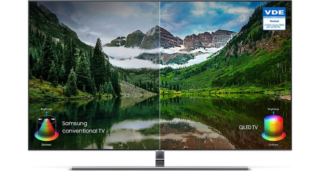 "Smart TV Tela Curva QLED 65"" UHD 4K Samsung 65Q8CN Smart Tizen, Bixby, Modo Ambiente, Tela de Pontos Quânticos, HDR 1500 4"