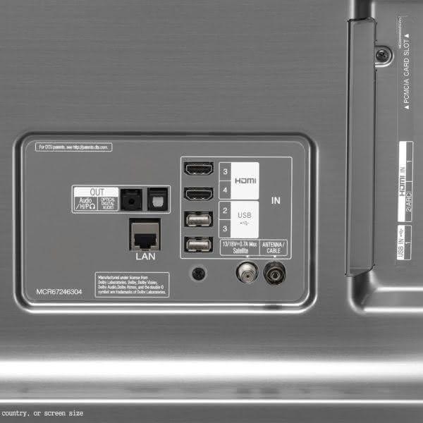 """Smart TV 4K UHD 65sk8000 LG tela Nano Cell 65"""" com HDR,  ThinQ AI, LG Cinema,"""