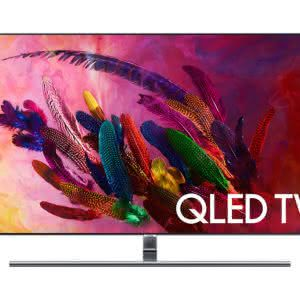 "Smart TV QLED 75"" UHD 4K Samsung 75Q7FNA, Smart Tizen, Bixby, Modo Ambiente, Tela de Pontos Quânticos, HDR 1500"