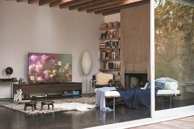 Resolução de uma TV 60 polegadas ou mais