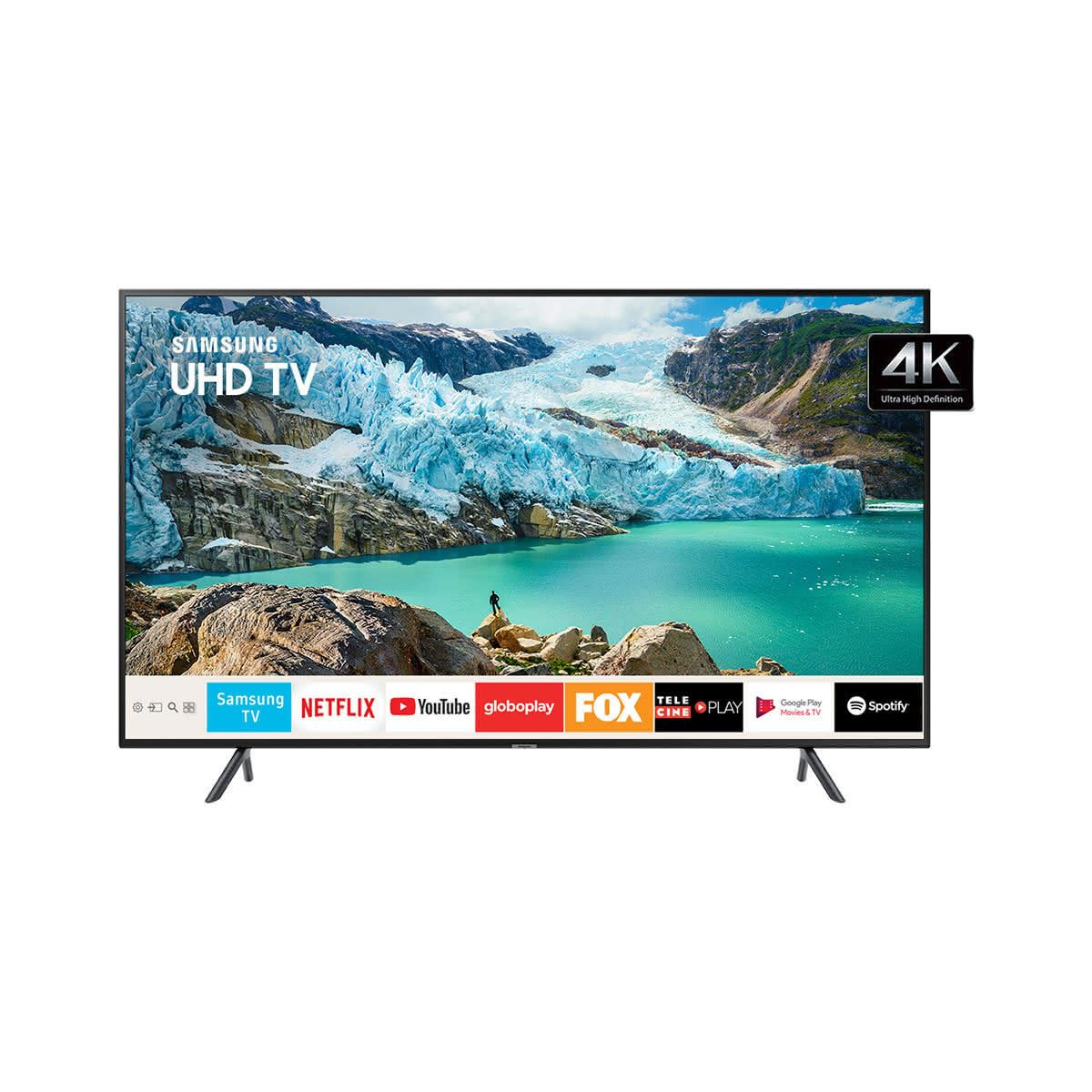 Review da linha RU7100 Samsung de Smart TV 4K UHD 8