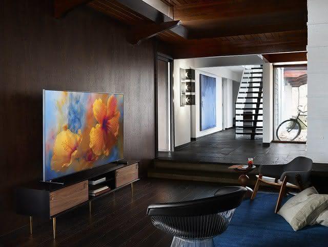 Como devo calcular o espaço para uma TV nova?
