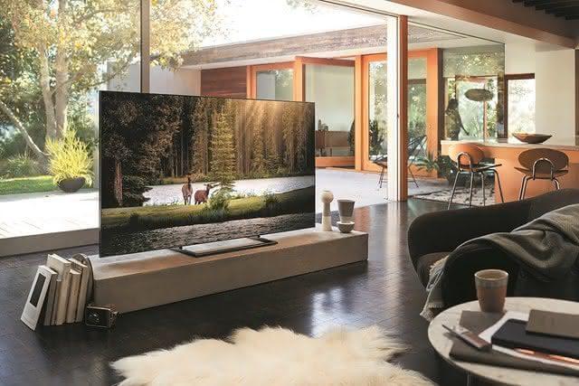 Tenha acesso a incríveis TVs com alta resolução com uma TV nova