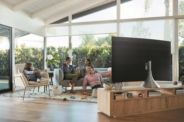 Já pensou no espaço ideal para sua TV nova?