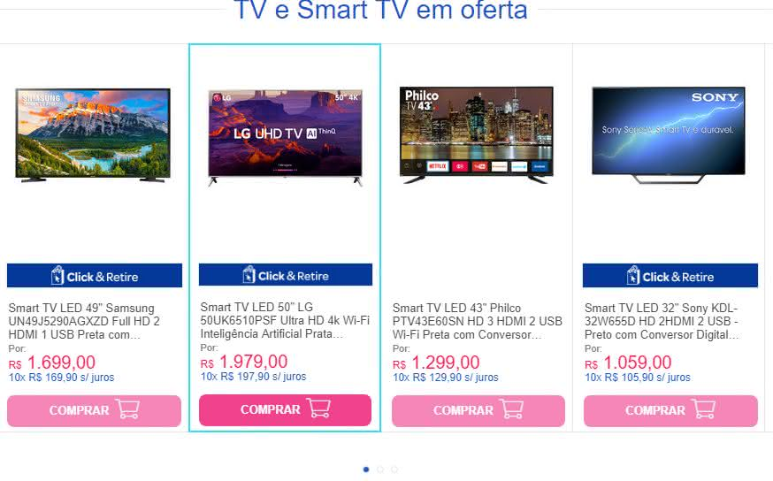 Vale a pena comprar TV no Carrefour