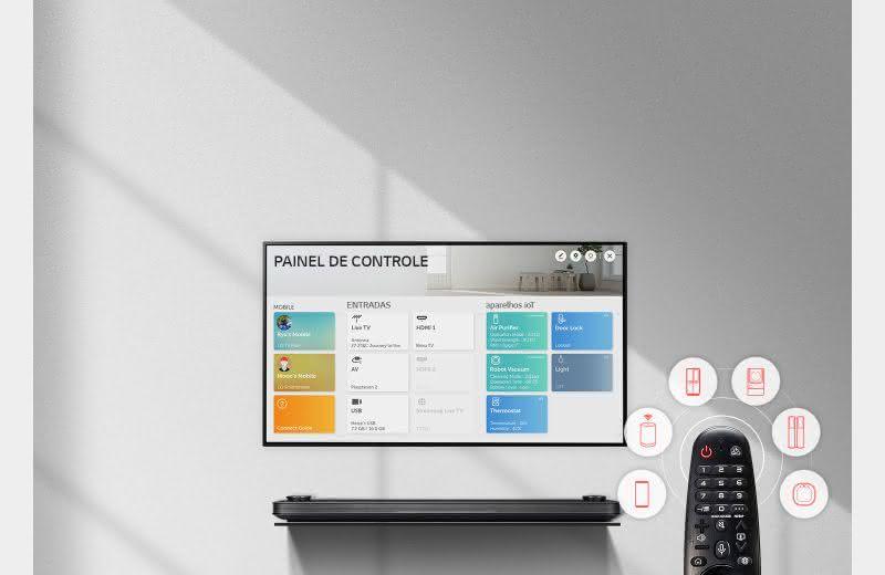 Linha LG UM7500 de Smart TV 4K UHD 4
